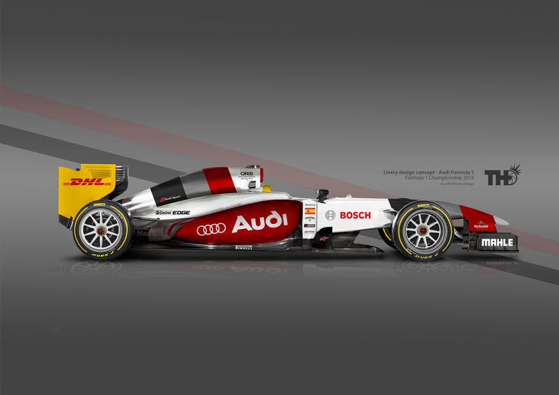 Audi F1 Concept at