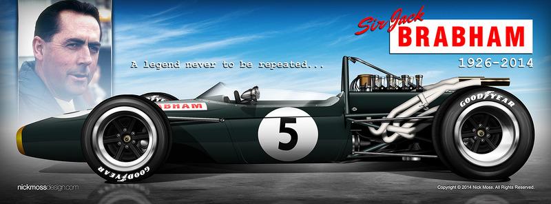 nickmossdesign com - 2014 Sir Jack Brabham Tribute at