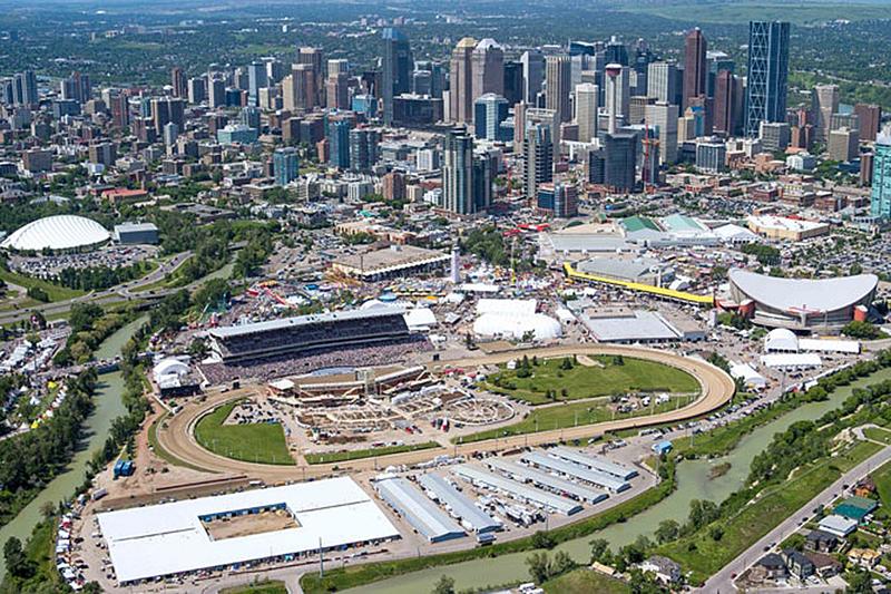 Calgary Alberta Canada Seen From The East Looking