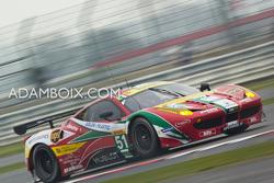 Ferrari #51 on the Wellington Straight