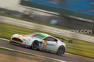 Aston #98 sweeping through Becketts