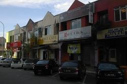 Вид на улицу с крыльца отеля Empress