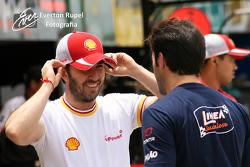 Popó Bueno (Shell) and Ricardo Zonta
