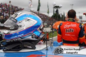 Vitor Genz's helmet