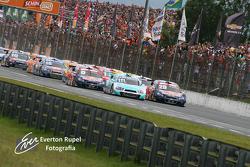 Start of final race