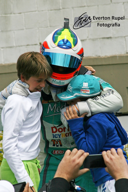 Rubens Barrichello and sons