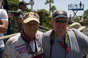 On the photo tower turn 6 with good pal Bill.