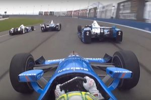 IndyCar Fontana Onboard
