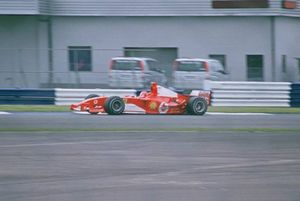 Michael Schumacher, Silverstone 2004