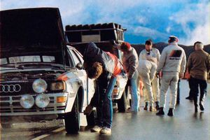 Команда Audi Sport. Ралли Аргентина 1983