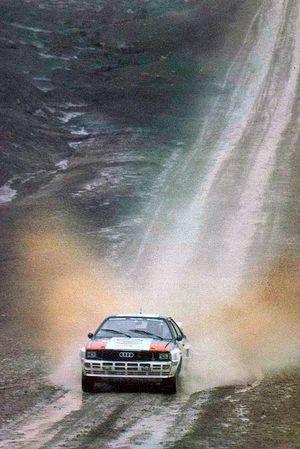 Стиг Бломквист. Ралли Аргентина 1983