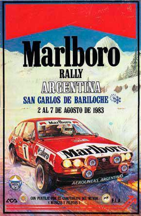 Афиша Ралли Аргентина 1983