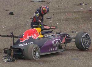 Accidente de Daniil Kvyat