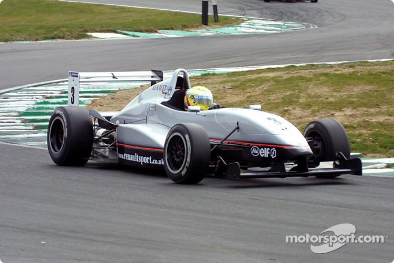 Campeão da Renault 2.0 UK em 2003