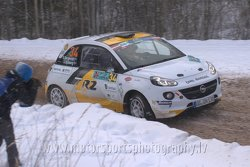 Emil Bergkvist, Joakim Sjöberg, ADAC Opel Rallye Junior Team, Opel Adam R2