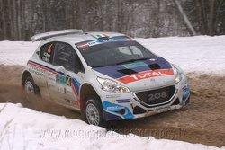 Craig Breen, Scott Alistair Martin, Peugeot Rally Academy, Peugeot 208 T16