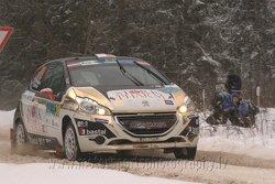 Łukasz Pieniążek, Jakub Gerber, Peugeot 208 vti