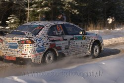 Aleksejs Ostaņins, Andrey Arefev, RIT TEAM, Mitsubishi Lancer Evo X