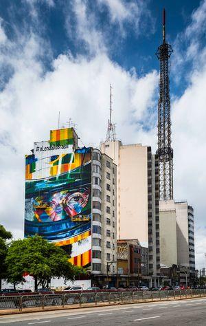 Mural de Ayrton Senna