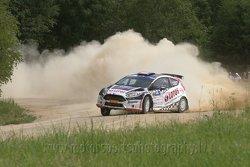 K.Kajetanowicz, J.Baran, Ford Fiesta R5