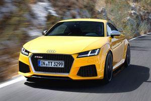 Audi TT-RS Render