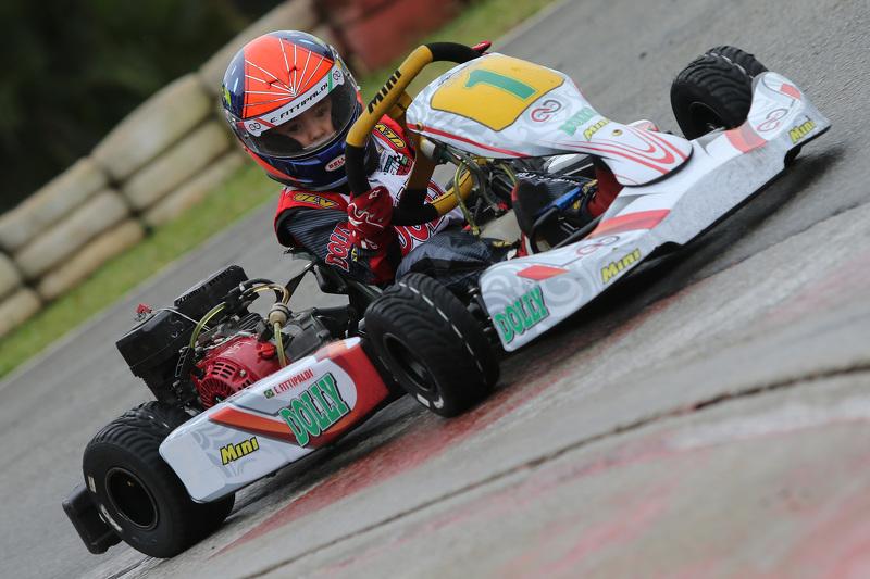 Emmo Fittipaldi no kart