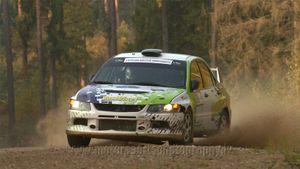 Yury Osokin / Georgy Troshkin / Mitsubishi Lancer Evo VIII / Vorobjovs Racing
