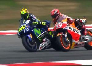 Valentino Rossi und Marc Marquez in Sepang