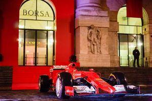 Ferrari na Bolsa de Milão
