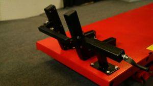 PRO 2500 rubber lined wheel vise