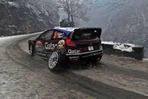 Евгений Новиков и Илка Майнор, Ford Fiesta RS WRC
