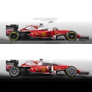 Concept Cockpit Formula1