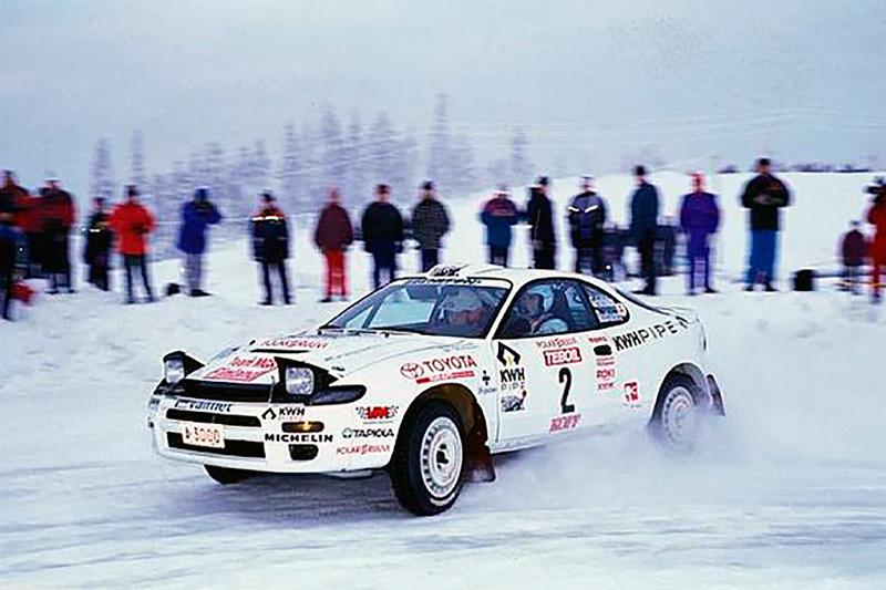 Маркус Гренхольм и Тимо Раутиайнен, Ралли Арктик 1996 года, Toyota Celica Turbo 4WD
