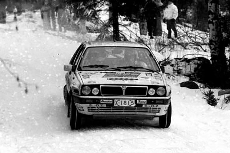 Томми Мякинен и Тимо Хантунен, Ралли Арктик 1989 года, Lancia Delta Integrale