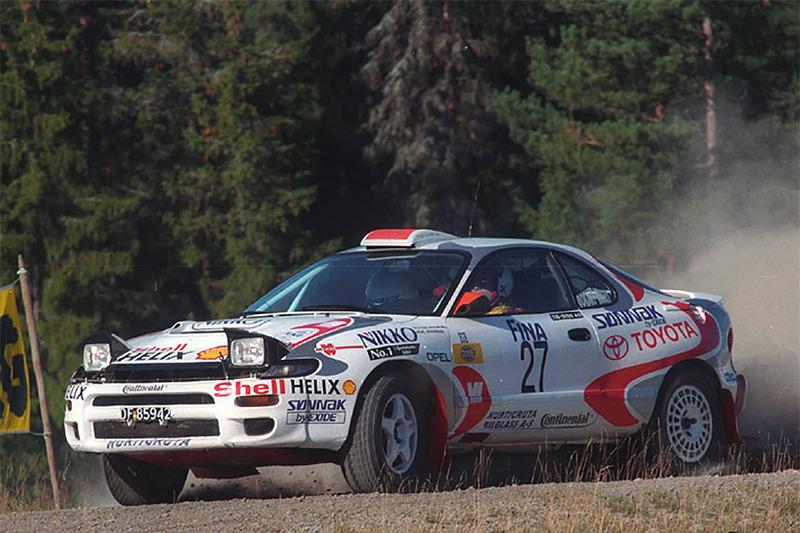 Петтер Сольберг и Эгил Солстад, Ралли Østfold 1997 года, Toyota Celica Turbo 4WD