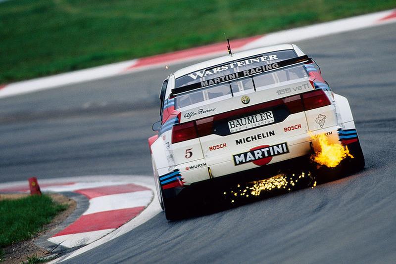 Никола Ларини, Alfa Romeo 155 V6 Ti, Нюрбургринг-1996