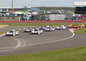 FIA WEC Prototype field
