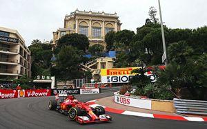 Kimi Raikkonen (f14t) Monaco gp