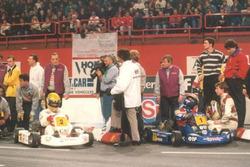 Айртон Сенна и Ален Прост в Берси, 1993