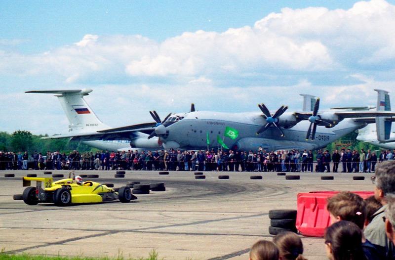 """2001 год, первая гонка в """"формулах"""". Аэродром Мигалово"""