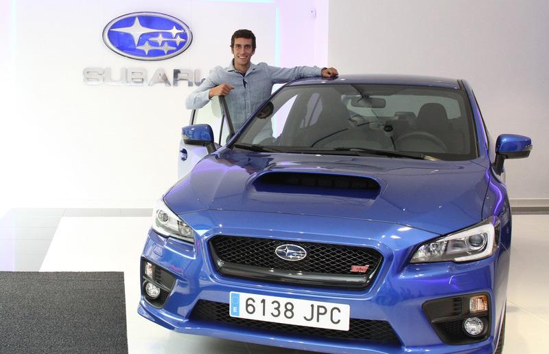 Alex Rins Embajador Subaru