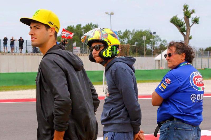 Rossi casco Arai