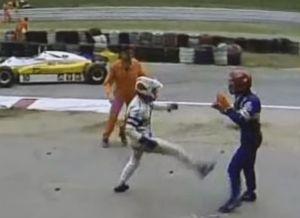 Nelson Piquet e Eliseo Salazar
