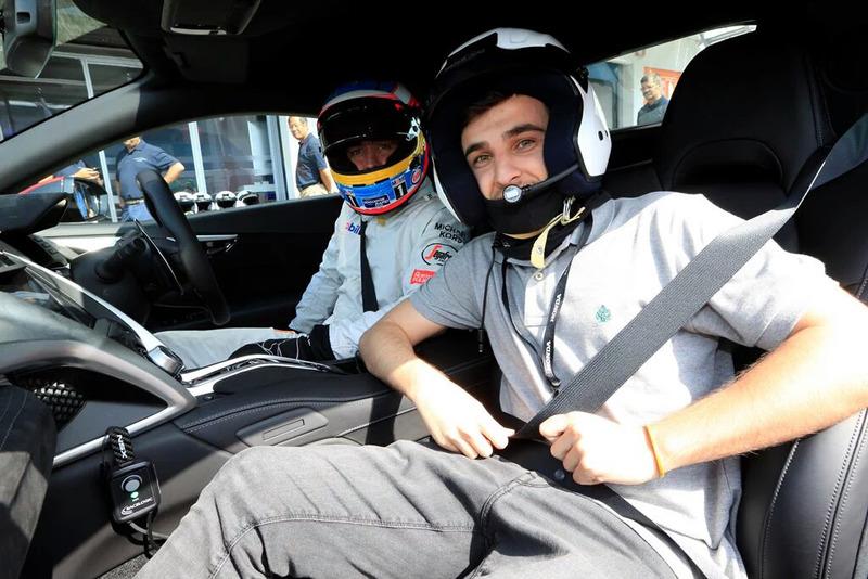 Fernando Alonso y Jose Carlos de Celis