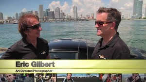 Emerson Fittipaldi chats with Motorsport.com co-founder Eric Gilbert