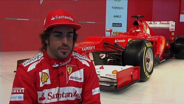 Scuderia Ferrari - F2012 - Interview with Fernando Alonso