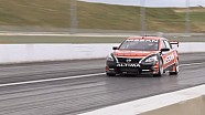 Todd Kelly takes to the track in the Nissan Altima V8 Supercar