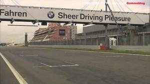 Alex Zanardi demonstration drive BMW M3 DTM at the Nurburgring