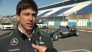 2013 Mercedes AMG Petronas W04 Car Launch - Toto Wolff