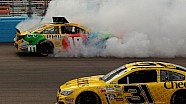 Kyle Busch spin out at 2013 Phoenix NASCAR race